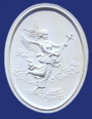 Angel With Guitar Plaque