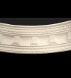 Curved Dentil and Block Cornice